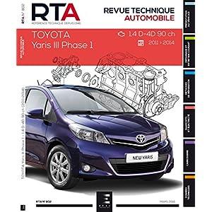 RTA 802 TOYOTA YARIS III > 2011-03 – 1,4D4D 90 Ch