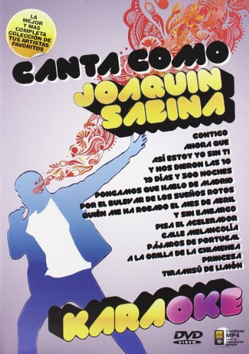 Canta Como Joaquin Sabina [DVD]
