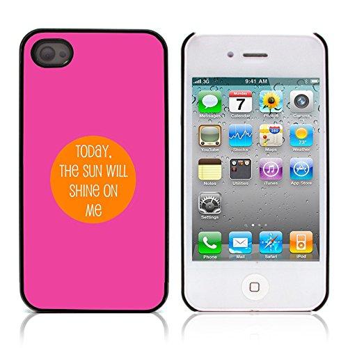 """Graphic4You """"Expect Nothing..."""" Life Proverb Zitat Design Harte Hülle Case Tasche Schutzhülle für Apple iPhone 4 und 4S Design #4"""
