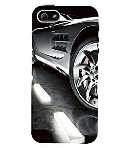 PRINTSWAG CAR Designer Back Cover Case for APPLE IPHONE 5S