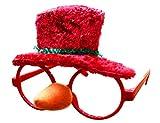 THEE Gafas para Navidad Accesorios de Disfraz Decoración Navideña