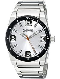 August Steiner AS8152SSW - Reloj de cuarzo para hombres, color plata