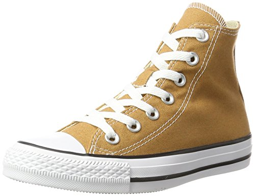 Converse Unisex-Erwachsene Chuck Taylor All Star Hohe Sneaker, Braun (Raw Sugar), 42.5 EU (Converse Lila Schuhe)