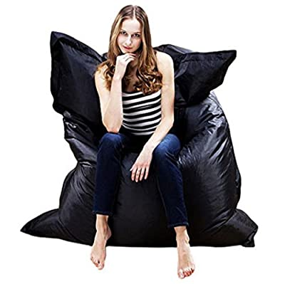 Masrin Portable Lazy Lounger Sleeping Bag Giant Beanbag Cushion Pillow Indoor Outdoor Relax Gaming Gamer Bean Bag - cheap UK light store.