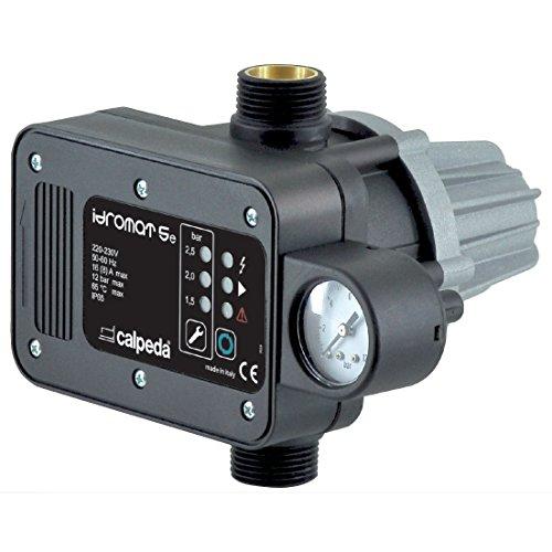 Regulator Pump IDROMAT 5-15 Switching ON Pressure 1,5bar 230V 50/60Hz CALPEDA - 115 Vac Single Phase Motor