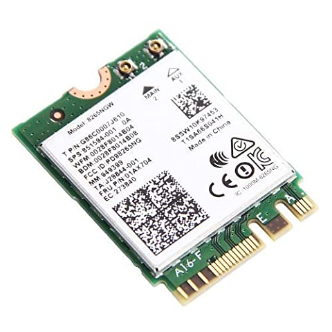 3CTOP AC 8265NGFF 867Mbps WiFi + Bluetooth 4.2WiFi 802.11ac Dual Band Wireless Card