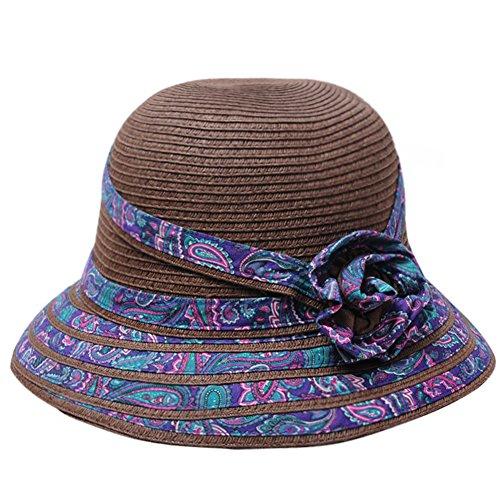 Summer Korean style Sun Hat chapeau de plage/Pot de fleur pliage chapeau/Chapeau de paille D
