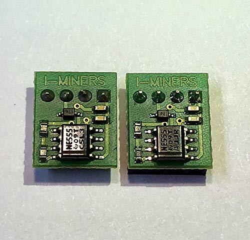 I-Miners Kühler Fan Simulator Emulator für Antminer S9 S11 S15 S17 D3 L3+ A3 T9 T15 T17 Z9 Z11 E3 DR5 E3 Öl 3M Novec Pack of 10