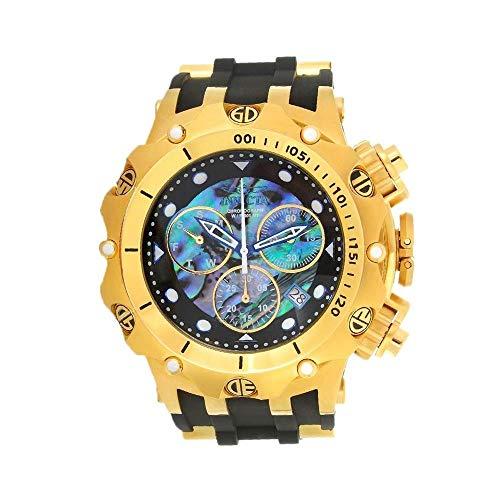 Invicta Venom Herren-Armbanduhr 51mm Armband Silikon Schweizer Quarz 26589 (Für Invicta Venom Uhren Männer)