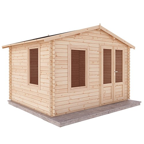 Waltons Log Cabin 2.7m X 3.3m Home Office Studio Chalet