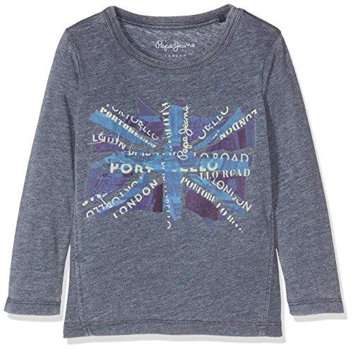 Pepe Jeans Jungen Long Sleeve Top Jordan Jr, Blau (Ocean), Herstellergröße: 5 (Jordan 5 Shirt)