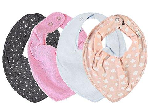 Pippi 6er Pack Baby M/ädchen Halstuch One Size
