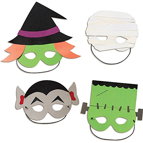 (Originelles Halloween-Masken Bastel-Set DIY)