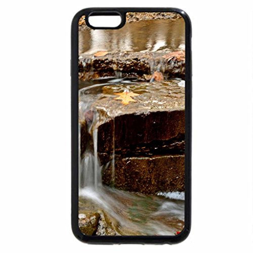 iPhone 6S Case, iPhone 6 Case (Black & White) - Serene landscape