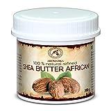 Shea Butter Raffiniert 200g - 100% Rein & Natürlich Afrikanisch Sheabutter - Butyrospermum Parkii - Körperbutter - für Massage & Körperpflege - Karité Body Butter