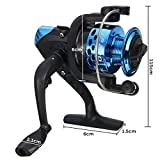 TENGGO 3BB Fishing Reel Spule Links/Rechts Fanggeräte 5.2: 1 blau