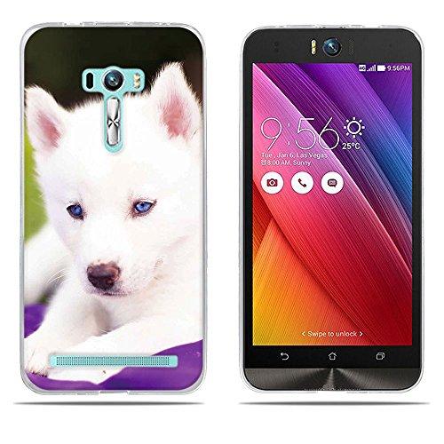 DIKAS ASUS ZenFone Selfie ZD551KL Hülle, Transparent Ultra Slim Tasche Etui Weich Flexibel Crystal Clear Premium TPU Silikon Bumper Schutzhülle für ASUS ZenFone Selfie ZD551KL- Pic: 06