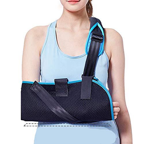 Universal Schulter-wegfahrsperre (AOPAMOX Armschlinge- Bruchschutzausrüstung, Schulter- und Ellbogengelenk Schulterbandage Befestigungsgurt Handgelenkstütze, Universal Links und rechts,M)