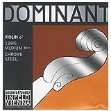 Dominant Strings 129 3/4 Corde de Mi pour Violon Taille 3/4 - Chrome