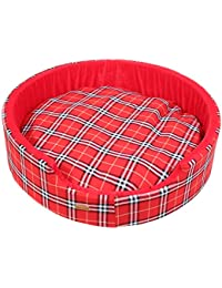 DOUGE COUTURE Designer Check Bucket Bed REDCHECK Color