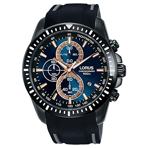 Lorus Orologio Cronografo Quarzo Uomo con Cinturino in Silicone RM353DX9