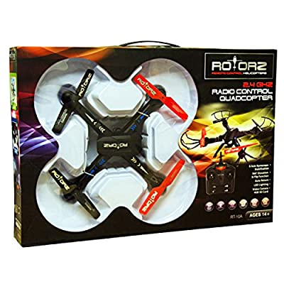 RASTAR 5060233785988 222 RT10A Drone Quadcopter Radio Control 2.4 Ghz with Camera and 4GB SD Card