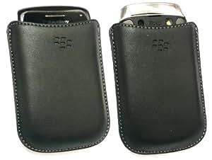Original Blackberry Koskin Schwarz Ledertasche Mit Proximity Sensor In Großpackungen Für Blackberry Bold 9790 + Emartbuy Displayschutz