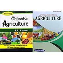 Objective Agriculture for JRF Exam and A Competitive Book of Agriculture