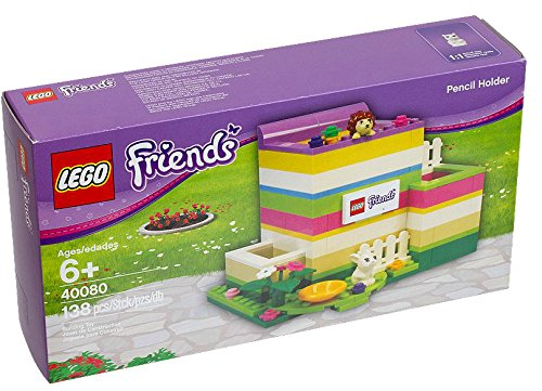 Lego Friends Pencil Holder 138pieza (S)–-Spiele Bau (Mädchen, Multi) (Bau-mädchen)