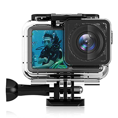 Womdee Waterproof Housing Case, Underwater Waterproof Protective Housing Case for OSMO Action Sport Camera, Suitable for Underwater Use Water Resistant Up to 200ft (61m)
