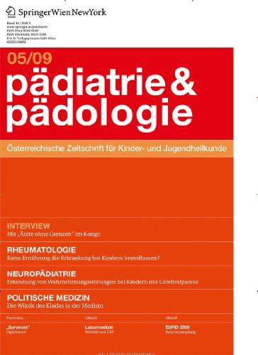 Pädiatrie & Pädologie [Jahresabo]