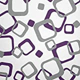 WANDfee® Wandtattoo Vierecke 80 Aufkleber FARBWUNSCH Wandaufkleber Kinderzimmer Wohnzimmer Flur Fliesenaufkleber Bad Badezimmer Küche