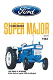 ComCard Ford 5000 Super Major 13PS 1956 tracktor Trekker Schild aus Blech