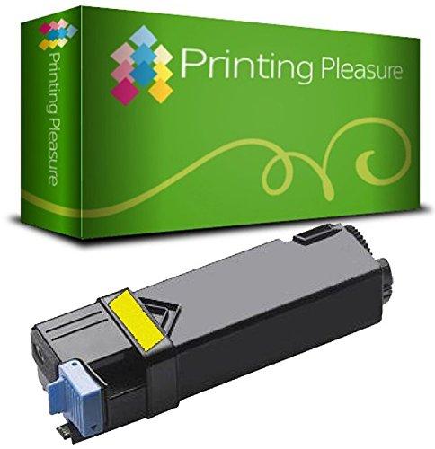 Xerox Rebuilt-toner (Toner kompatibel für Xerox Phaser 6140 6140DN 6140N 6140V - Gelb, hohe Kapazität)