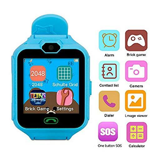 Hangang Handy Smart Kid Smartwatch Kamera Spiele Touchscreen Toys Cool watch, Super multifunktional Spiel Uhren für Kinder Geschenke für Mädchen Jungen Kinder (Für Jungen Kinder Spiele)