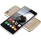CUBOT X12 5.0'' IPS Android 5.1 Unlocked LTE 4G Smartphone Quad Core 1GB/8GB Dual SIM Cellphone Phablet (Golden)