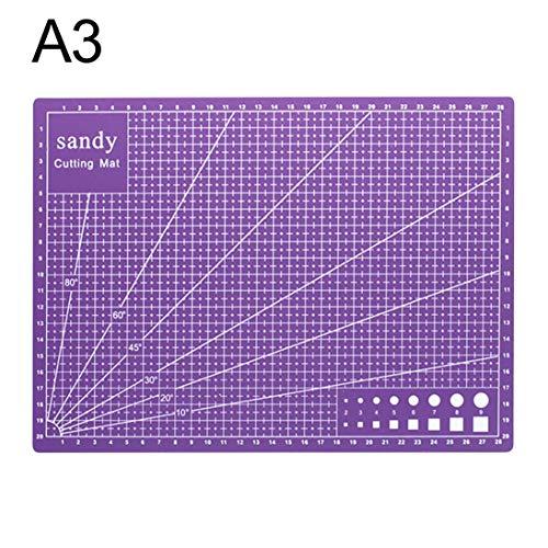 A3 Estera corte Base corte acero Placa corte placa