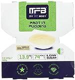 MYFITBODY Postre rico en Proteínas - Crema de vainilla - Pack 4 x 125 gr - total: 500g