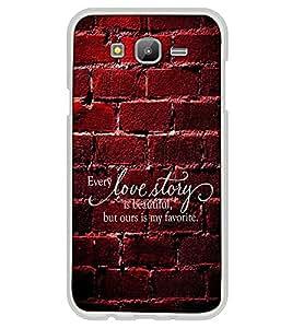 Fuson Designer Back Case Cover for Samsung Galaxy On5 Pro (2015) :: Samsung Galaxy On 5 Pro (2015) (beautiful ours is favorite text)