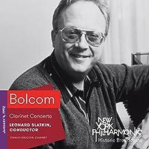 Bolcom: Clarinet Concerto (Recorded 1992)
