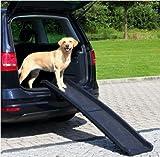 Trixie PKW Auto Hunderampe Klapp Rampe Einstiegshilfe Hund Hunderampe zusammenklappbar bis 90kg