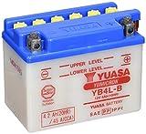 YUASA - Batteria YB4L-B,  120x70x92 mm