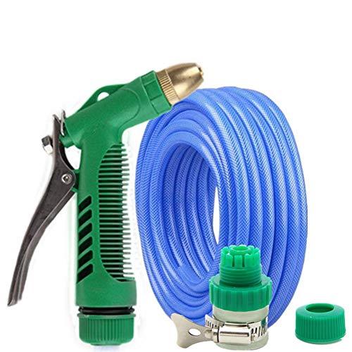 Garten Handbrause Hochdruck Wasserleitung Wasserpistole Hochdruckwasserpistole gesetzt Haushalt Bewässerungsrohr Spritzpistole Kopf 10 Meter