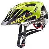 Uvex Quatro MTB Fahrrad Helm gelb/schwarz 2019: Größe: 56-60cm