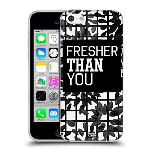 Head Case Designs Gatto Nero E Rosa Gatti A Pois Cover Morbida In Gel Per Apple iPhone 7 Plus / 8 Plus Più Fresco Di Te