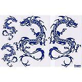 Dragon STICKER Tuning Racing Motocross Autocollant feuille 27 x 18 cm