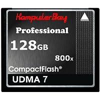 Komputerbay Professional CompactFlash 128GB Speicherkarte (UDMA 7 RAW, schreiben 75 MB/s, lesen 120MB/s )