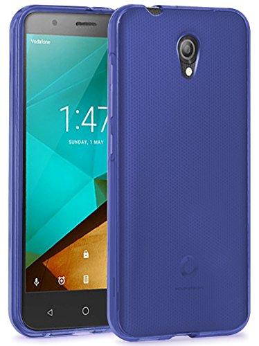 TBOC® Blau Gel TPU Hülle für Vodafone Smart Prime 7 Ultradünn Flexibel Silikonhülle