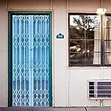Fqz93in Aufkleber Der Tür 3D 3D Imitiert Falttür Design Durch Aufkleber Wandbild Home Decor PVC Kreative Kunst Poster Abnehmbar Durch