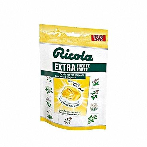 Caramelo ricola extra fuerte miel-limon